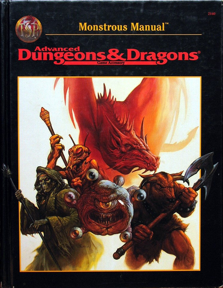 computer game museum display case advanced dungeons dragons rh mocagh org dungeons and dragons monster manual 3.5 dungeon and dragons monster manual 3.5 pdf