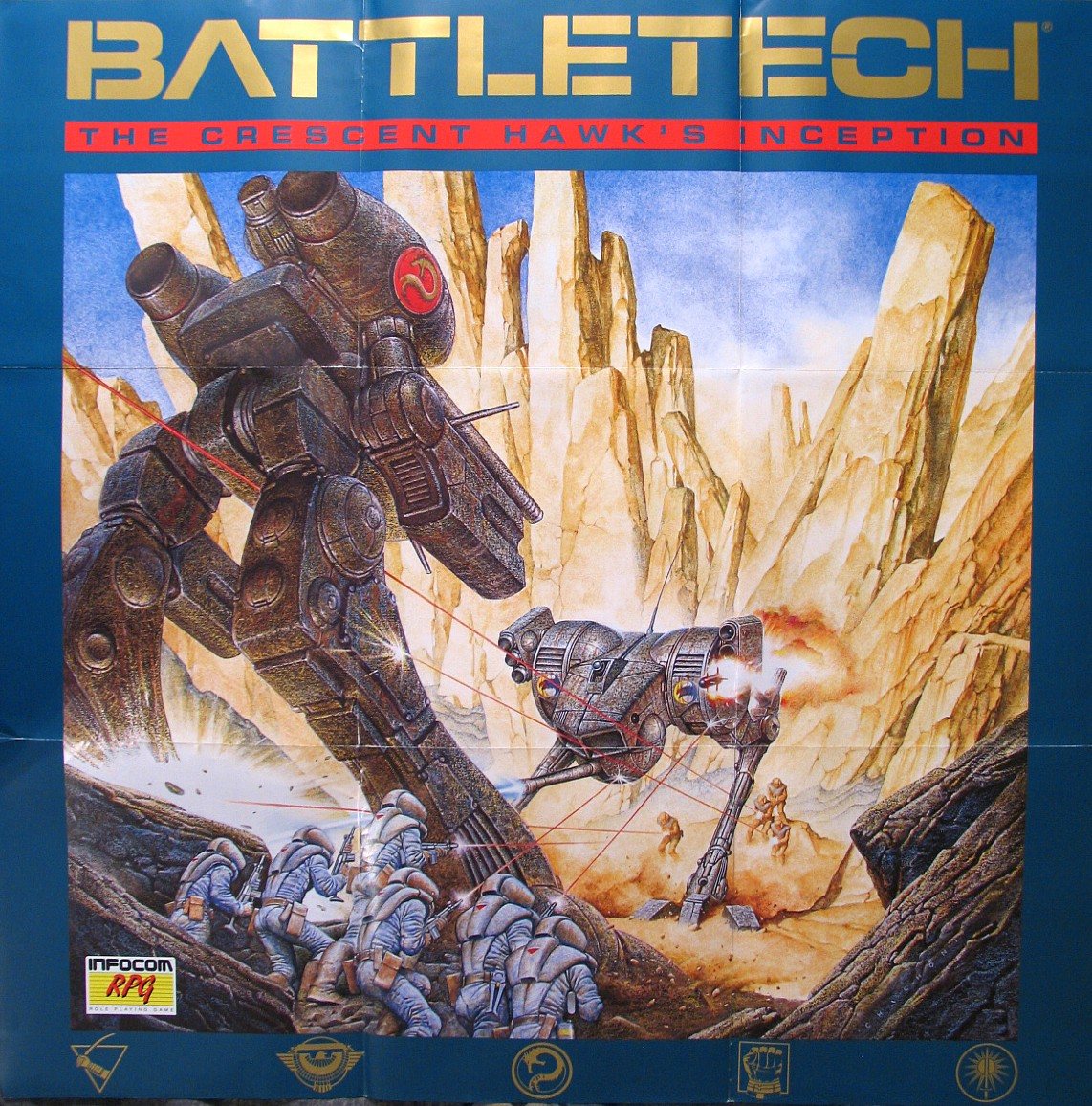 Computer Game Museum Display Case Battletech The