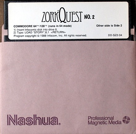 Computer Game Museum Display Case - Zork Quest: The Crystal