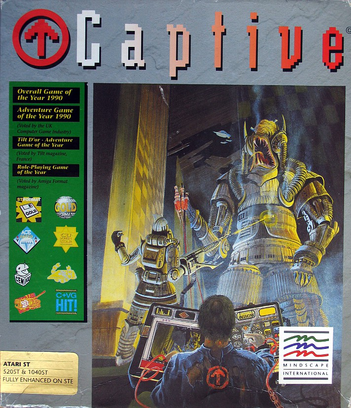 Computer Game Museum Display Case - Captive