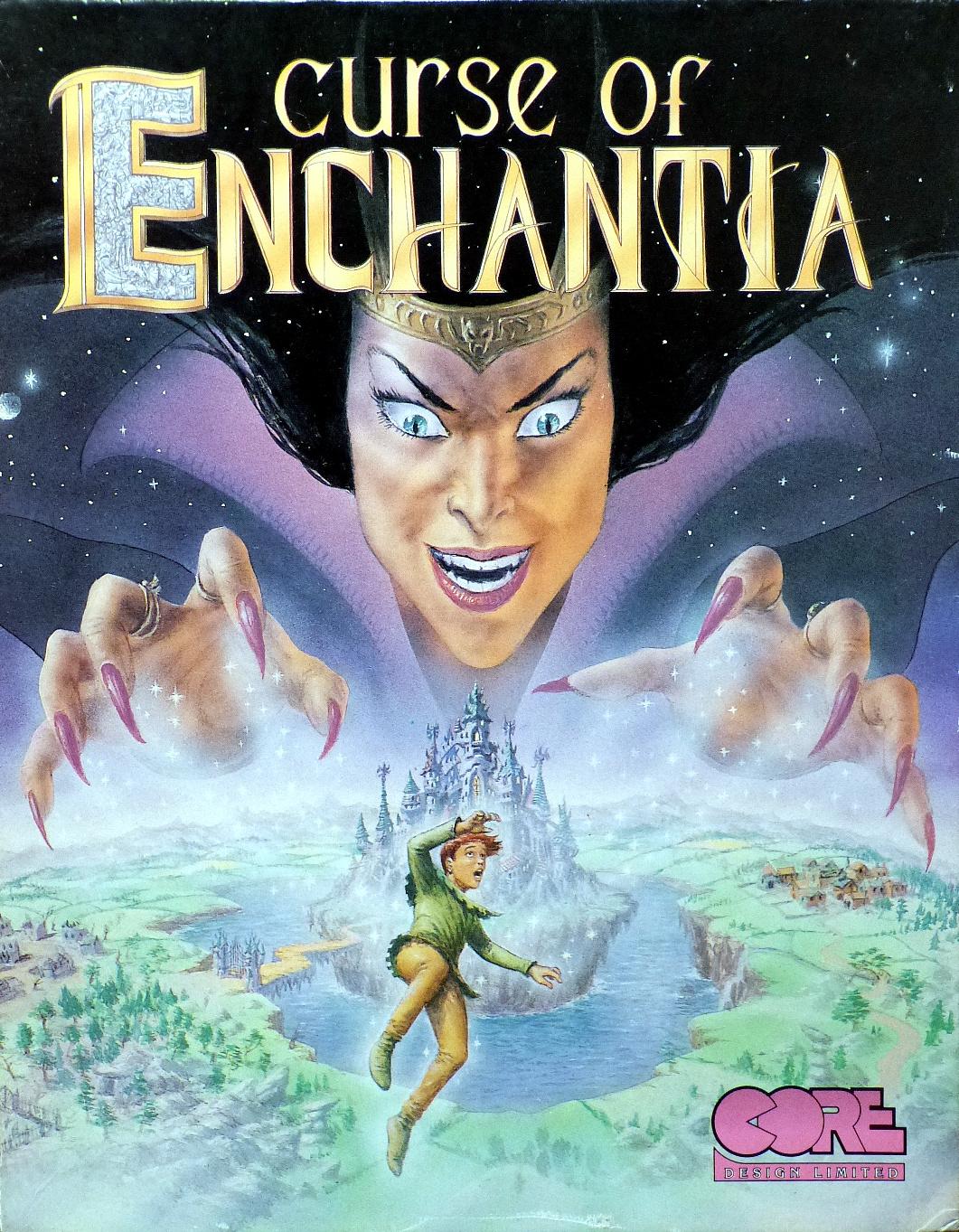 Computer game museum display case curse of enchantia for Curse of enchantia