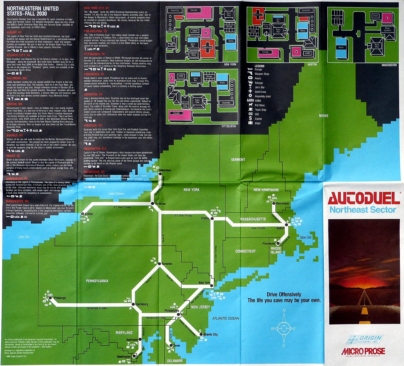 Art Car Museum >> Computer Game Museum Display Case - Autoduel