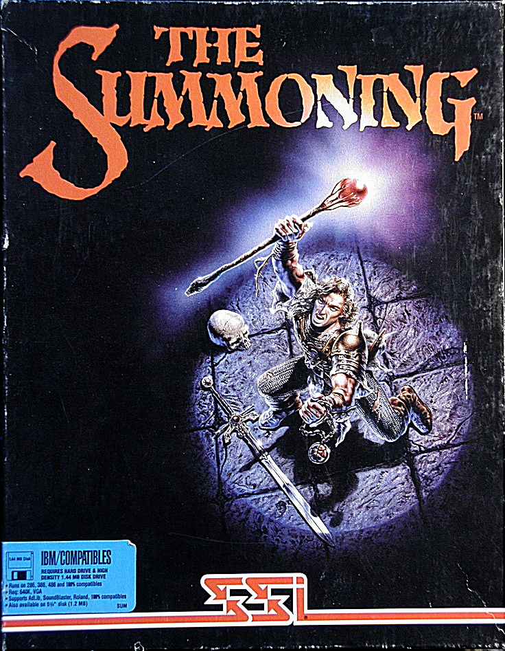 Computer Game Museum Display Case - Summoning