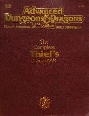 Advanced Dungeons & Dragons The Complete Thief's Handbook