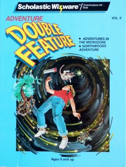 Adventure Double Feature Volume II: Adventures in the Microzone and Northwoods Adventure