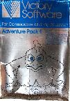 Adventure Pack 1 (Moon Base Alpha/Jack and the Beanstalk/Computer Adventure) (Victory Software) (Vic-20/C64)