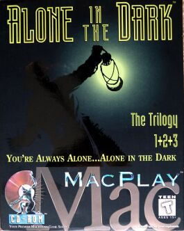 Alone in the Dark: The Trilogy 1+2+3 (Interplay) (Macintosh)