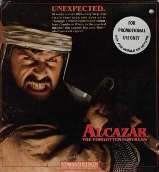 Alcazar: The Forgotten Fortress (C64) (Disk Version)