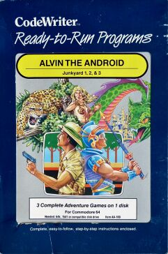Alvin the Android: Junkyard 1, 2, & 3