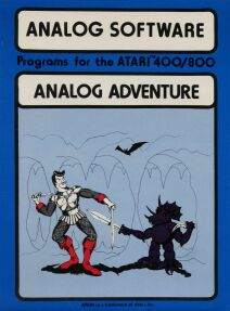 Analog Adventure (Analog Software) (Atari 400/800)