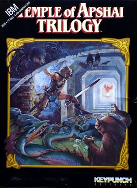 Temple of Apshai Trilogy (Keypunch Software) (IBM PC)