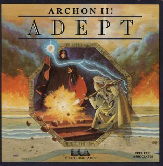Archon II: Adept (Apple II) (Contains Original Cover Painting)