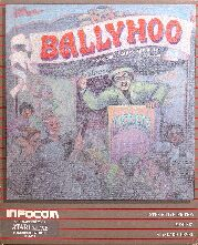 Ballyhoo (Atari 400/800) (Contains Map)
