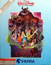 Black Cauldron (Slipcase) (Apple II)