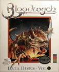 Bloodwych Data Disks Vol. 1 (MirrorSoft) (Atari ST) (Contains Hints and Tips)
