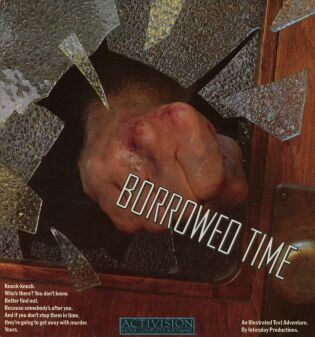 Borrowed Time (C64) (Contains Hint Sheet)