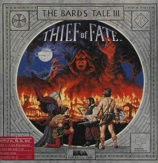 Bard's Tale III: Thief of Fate (Album) (Apple II) (Contains Clue Book)