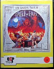 Bard's Tale III: Thief of Fate (Clamshell) (ECP) (C64) (Contains Hint Sheet)
