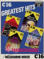 C16 Greatest Hits: The Wizard & the Princess, Classic Adventure, Dark Tower and Roller Kong (Melbourne House) (C16/Plus4)