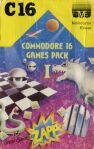 Commodore 16 Games Pack I: Micro Minotaur, Breakin, Warlock, Unscramble, Blockade, Hangman, Dragons Lair, Blackjack, Penetrator, Sam, Siege, 2D Maze, Zapp, Star Trader, Looney Landa (Melbourne House) (C16/Plus4)