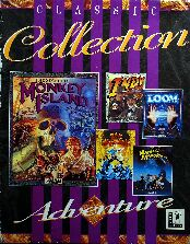 Classic Collection (includes The Secret of Monkey Island, Loom, Maniac Mansion, Zak McKaracken and the Alien Mindbenders, Indiana Jones and the Last Crusade Graphic Adventure)
