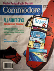 Commodore August 1989