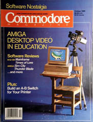 Commodore October 1989
