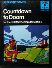Countdown to Doom (BBC Model B) (Disk Version) (Contains Hint Book)