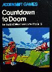 Countdown to Doom (BBC Model B) (Contains Hint Book)