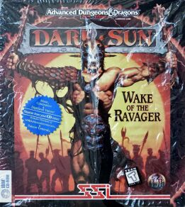 Dark Sun II: Wake of the Ravager (IBM PC) (Contains Clue Book)