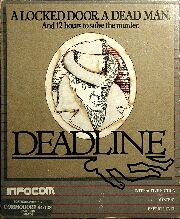 Deadline (C64) (Contains InvisiClues Hint Book)