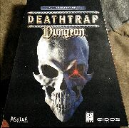 Fighting Fantasy: Deathtrap Dungeon (Eidos) (IBM PC) (Contains Hint Book)