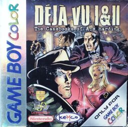 Deja Vu I & II: The Casebooks of Ace Harding (Kemco) (Gameboy Color)