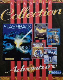 Classic Collection (includes Cruise for a Corpse, Flashback, Another World, Operation Stealth, Future Wars) (Delphine) (Amiga)