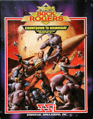 Buck Rogers: Countdown to Doomsday (Amiga) (Contains Clue Book)