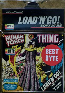 Questprobe: Human Torch and the Thing (Load 'n' Go!) (Apple II)