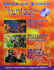 Mega CD 3-Pack Fantasy (King's Quest VI: Heir Today, Gone Tomorrow; Might & Magic: Clouds of Xeen; Eye of the Beholder III: Assault on Myth Drannor) (Slash) (IBM PC)
