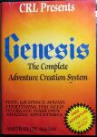 Genesis: The Complete Adventure Creation System (CRL) (Amstrad CPC)