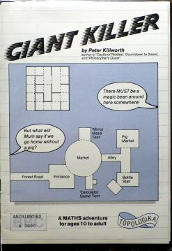 Giant Killer (Topologika) (Acorn Archimedes) (Contains Alternate Reference Card)