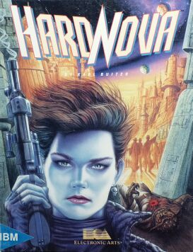 Hard Nova (IBM PC) (Contains Clue Book)