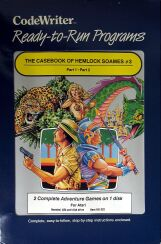 Casebook of Hemlock Soames #3, The (CodeWriter) (Atari 400/800)