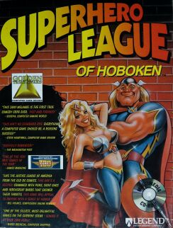 Superhero League of Hoboken (IBM PC) (CD Version)