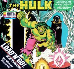 Questprobe: The Hulk (Load 'n' Go!) (Apple II) (missing outer blister pack)