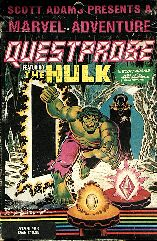 Questprobe: The Hulk (Atari 400/800) (Contains Comic)