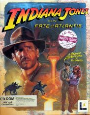 Indiana Jones and the Fate of Atlantis (IBM PC) (Contains Hint Book, Poster)