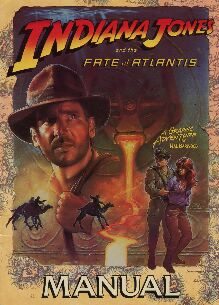 Indiana Jones and the Fate of Atlantis (manual only) (UK Version)