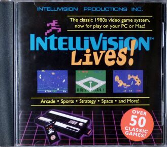 Intellivision Lives CD (IBM PC)