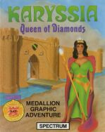 Karyssia: Queen of Diamonds (Incentive Software) (ZX Spectrum)