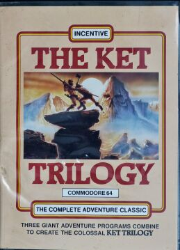 Ket Trilogy, The (Incentive Software) (C64) (Disk Version) (missing manual)