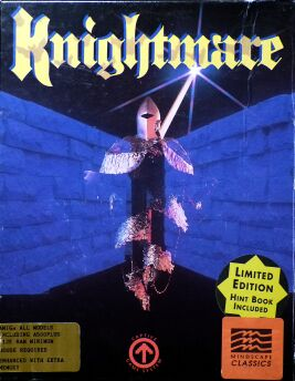 Knightmare (Amiga) (Contains Hint Book, Map)